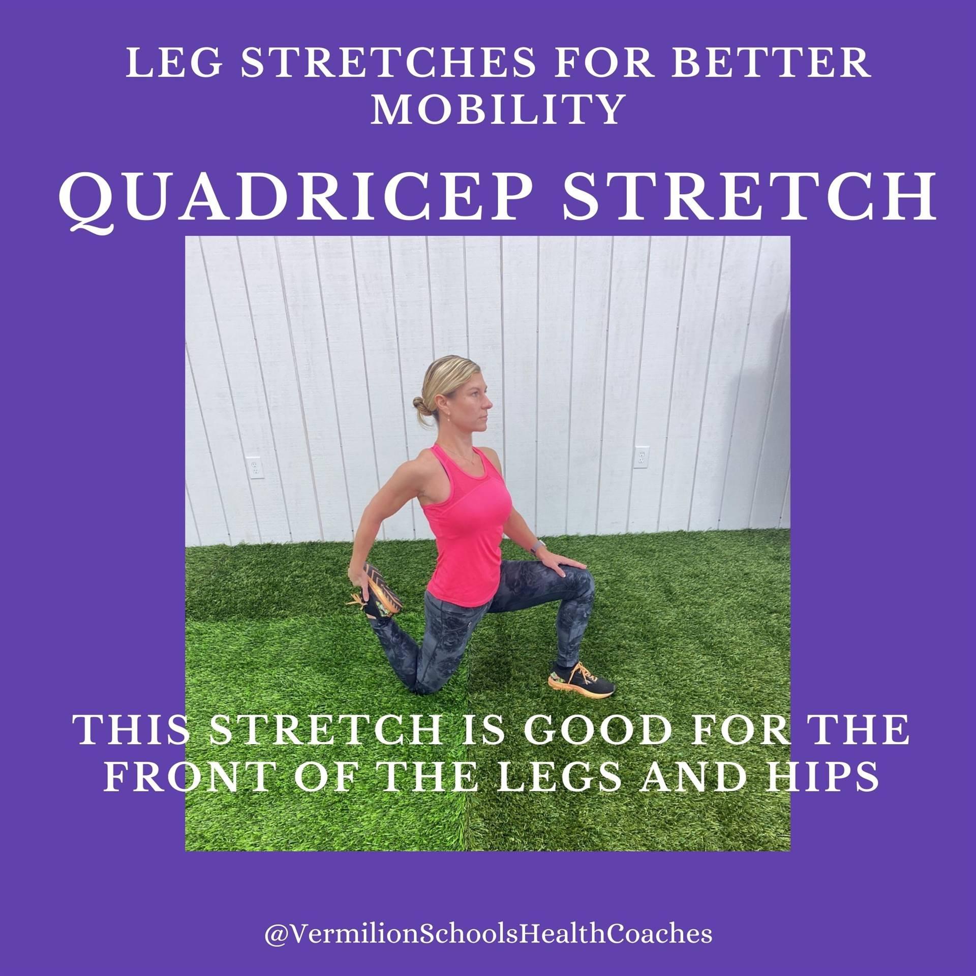Quadricep Stretch #1